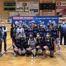 El equipo sénior femenino de la ADV Miguelturra se proclama campeón de Castilla-La Mancha