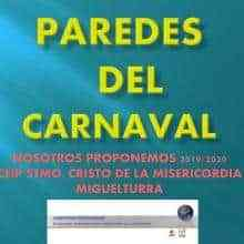"""La concejalía de Educación de Miguelturra presenta """"Paredes del Carnaval"""""""