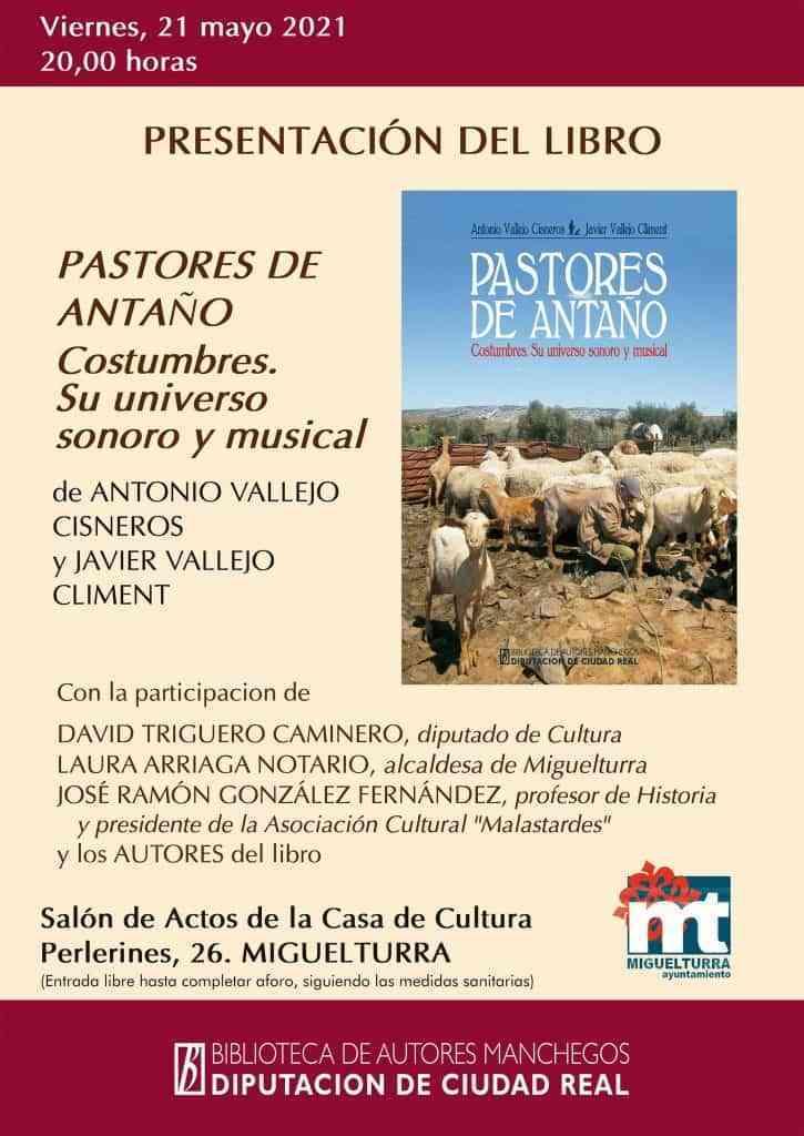 Miguelturra: Presentación del libro «Pastores de antaño: costumbres. Su universo sonoro y musical»