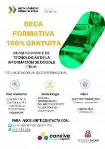 Curso de «Tecnologías de la Información de Google» del área de Bienestar Social de Miguelturra